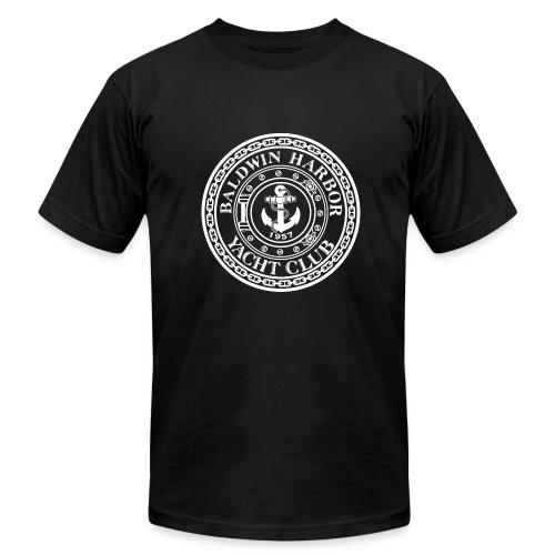 General Logo outlined - Men's Fine Jersey T-Shirt
