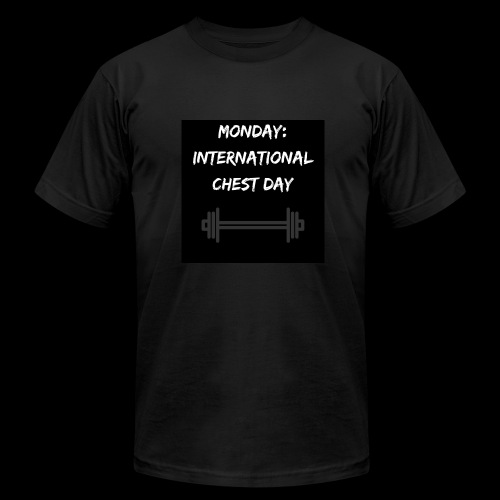 International chest day - Men's Fine Jersey T-Shirt