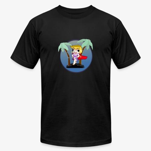 Hans on a vacation - Men's Fine Jersey T-Shirt