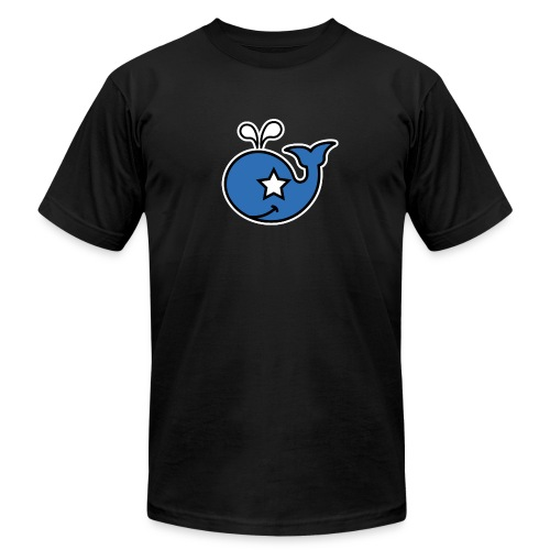 twinOD whale - Men's  Jersey T-Shirt