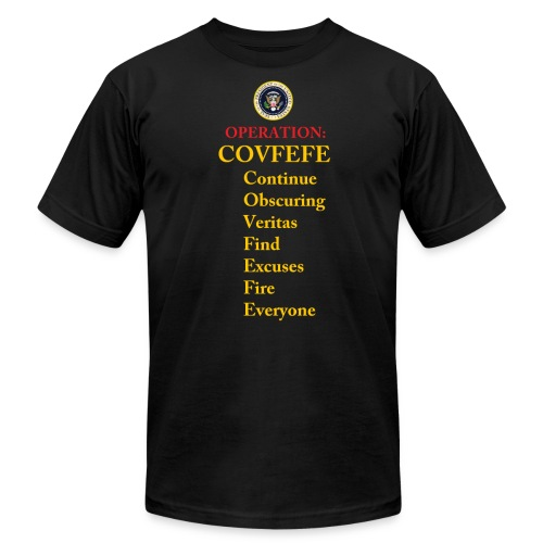 covfefe - Men's Fine Jersey T-Shirt