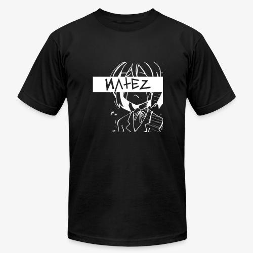 NATEZ Logo - Men's Fine Jersey T-Shirt