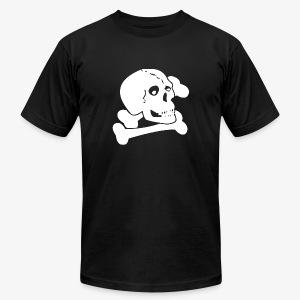 White Skull - Men's Fine Jersey T-Shirt