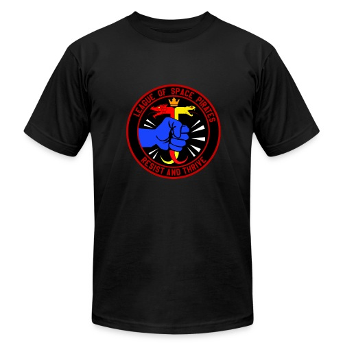 League of Space Pirates: Resist and Thrive - Men's Fine Jersey T-Shirt