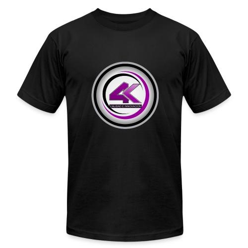 LOGO 4K1 1024x1024 - Men's Fine Jersey T-Shirt