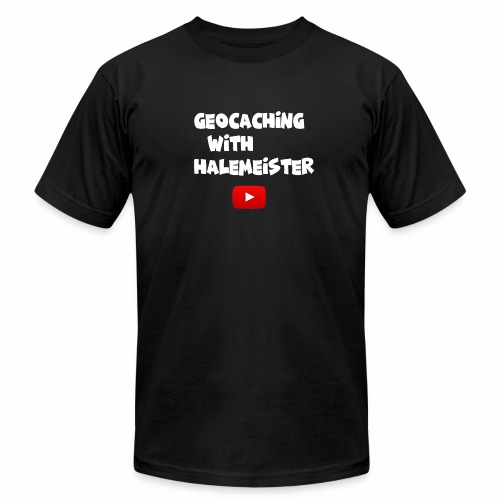 Geocaching with Halemeister - Men's  Jersey T-Shirt