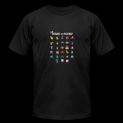Emote List - Men's Fine Jersey T-Shirt