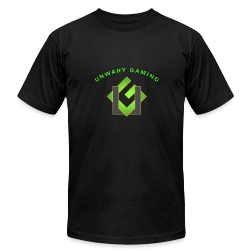 Unwary Gaming Logo - Men's Fine Jersey T-Shirt
