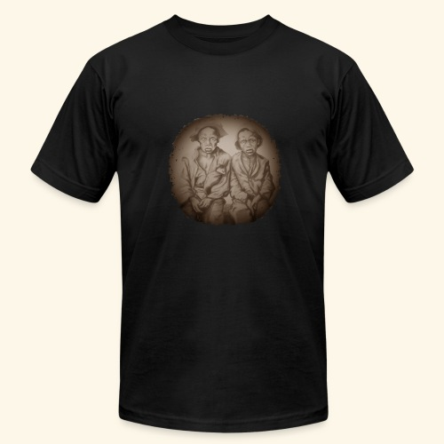 two young slaves - Men's Fine Jersey T-Shirt