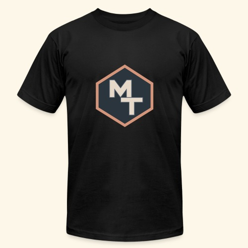 Maximum Tips Logo - Men's Fine Jersey T-Shirt