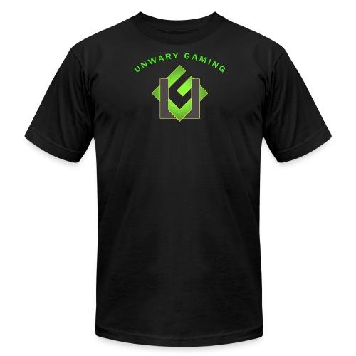 Unwary Gaming Logo - Men's Fine Jersey T-Shirt
