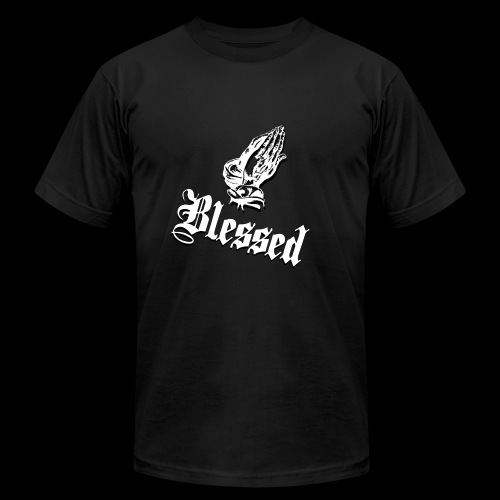 Blessed White - Men's Fine Jersey T-Shirt