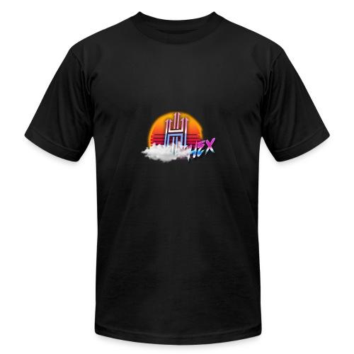 Retro Style Hex Logo - Men's Fine Jersey T-Shirt