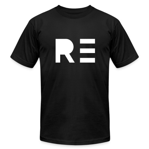 RE Logo - Men's  Jersey T-Shirt