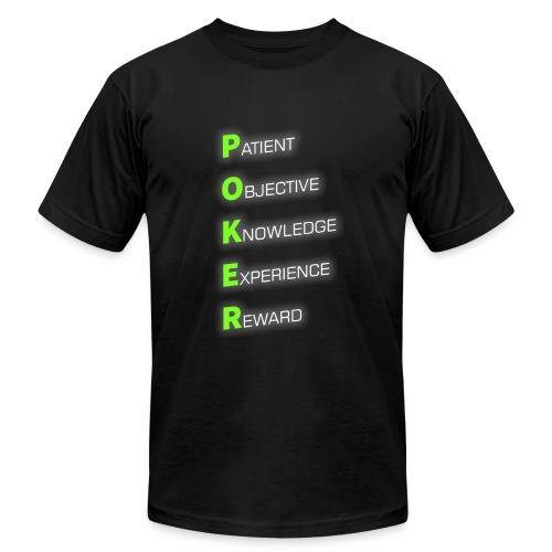 POKER - Men's Fine Jersey T-Shirt
