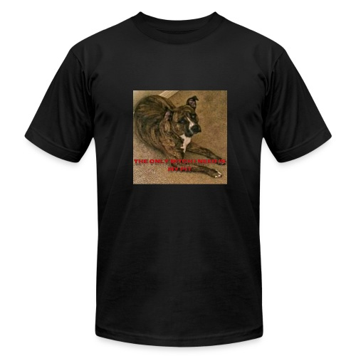 Pit bulls - Men's Fine Jersey T-Shirt