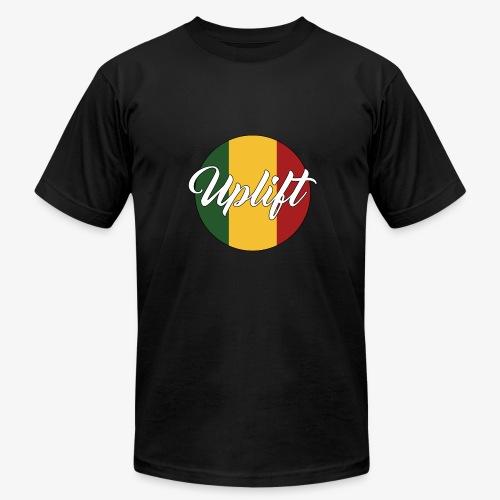 Uplift Rasta Basic // - Men's Fine Jersey T-Shirt