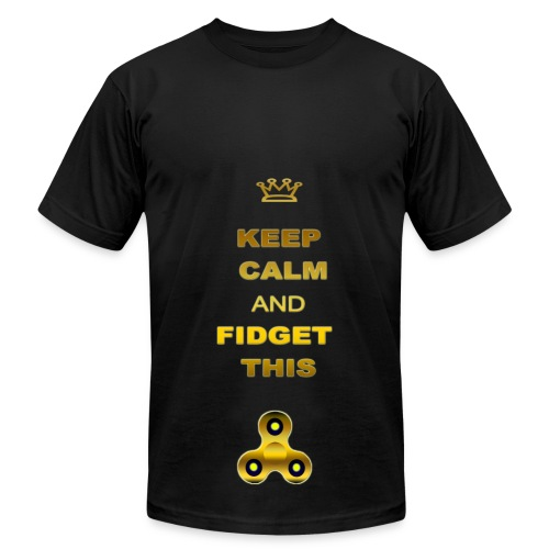 KEEP CALM AND FIDGET THIS - Men's Fine Jersey T-Shirt