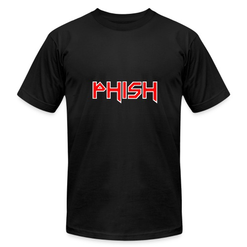 PHISH - Iron Maiden Font 2017 - Men's Fine Jersey T-Shirt