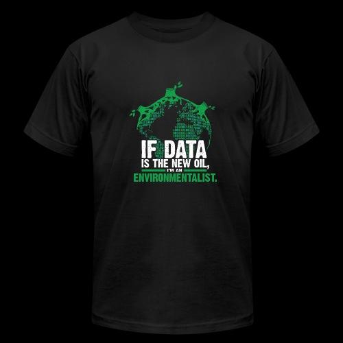 Data Environmentalist - Men's Fine Jersey T-Shirt