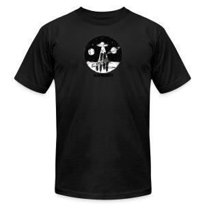 Space logo design - Men's Fine Jersey T-Shirt