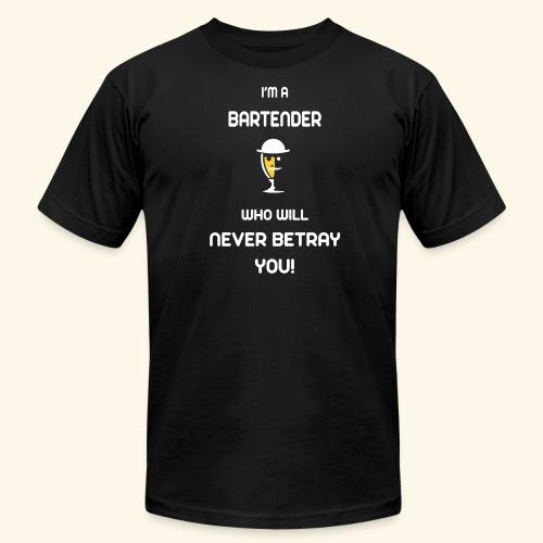 TRUST ME ! I'M A BARTENDER - Men's Fine Jersey T-Shirt