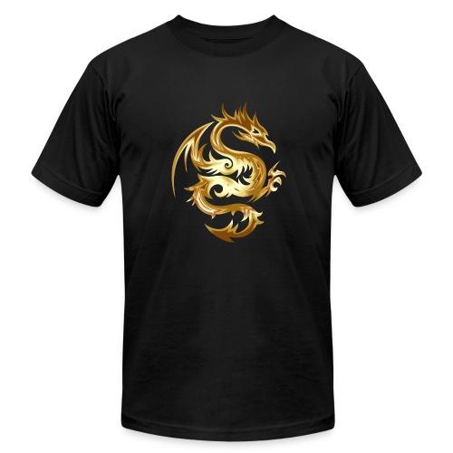 dragon tribal - Men's  Jersey T-Shirt