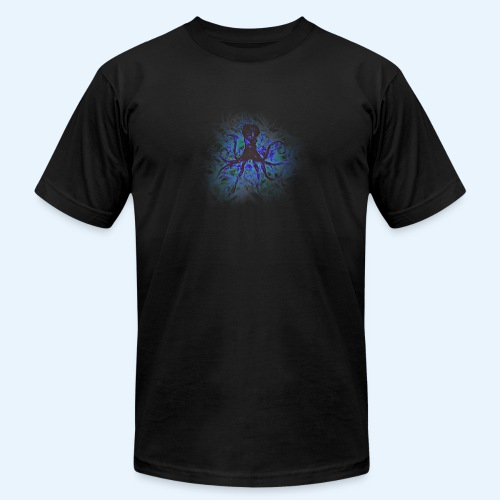 Octopus darklight - Men's Fine Jersey T-Shirt