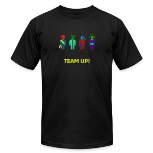 Spaceteam Team Up! - Men's T-Shirt by American Apparel