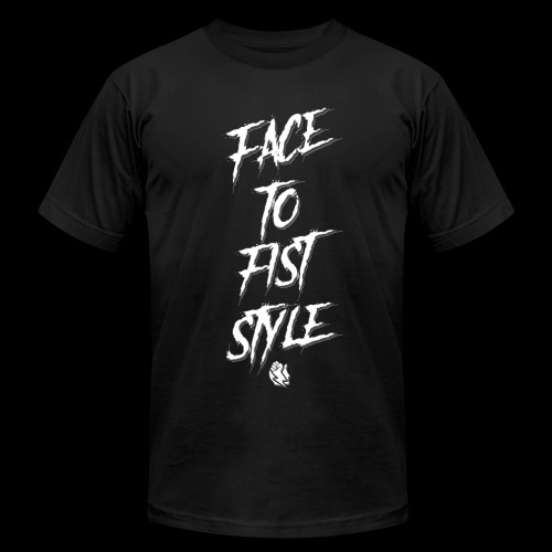 Face To Fist Style - Men's  Jersey T-Shirt