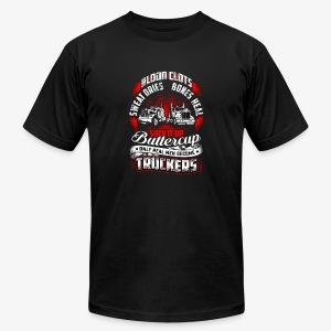 SUCK IT UP TRUCKERS - Men's Fine Jersey T-Shirt