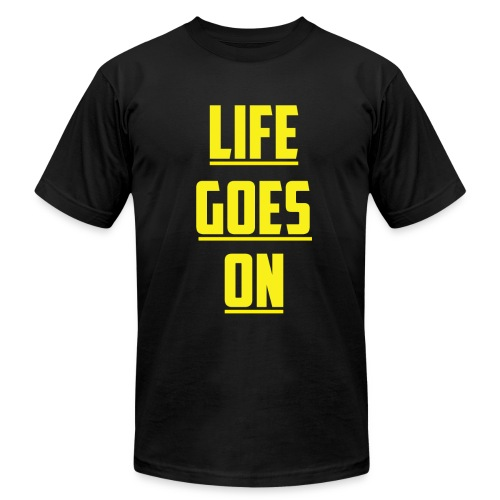 Life Goes On (YC) - Men's Fine Jersey T-Shirt