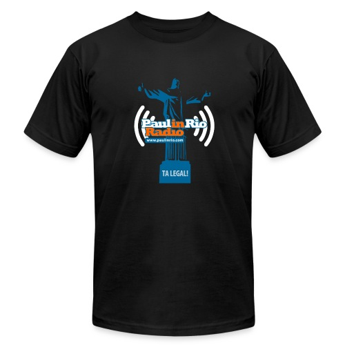 Paul in Rio Radio - The Thumbs up Corcovado #2 - Men's Fine Jersey T-Shirt