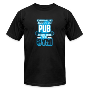 I Enjoy Going to the GYM - Men's Fine Jersey T-Shirt