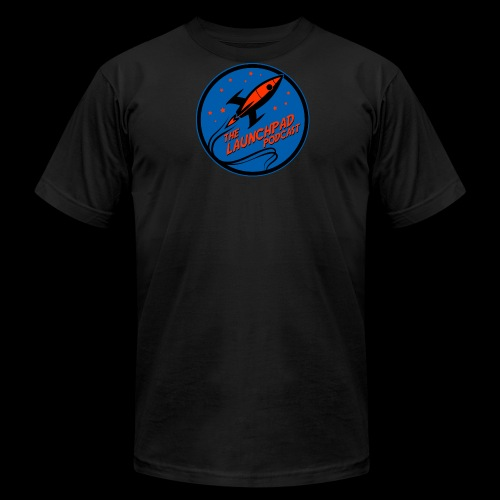 Launchpad Podcast Logo - Men's Fine Jersey T-Shirt