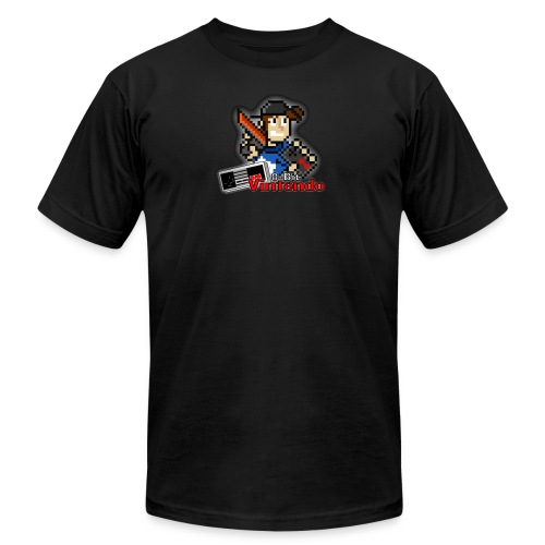 8-Bit Vintendo Logo 1 - Men's Fine Jersey T-Shirt