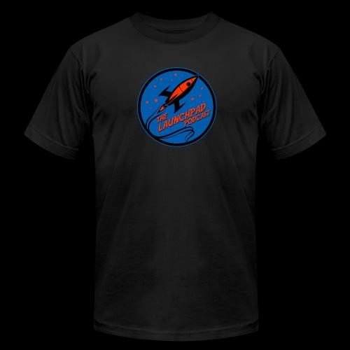 Launchpad Podcast Logo - Men's  Jersey T-Shirt