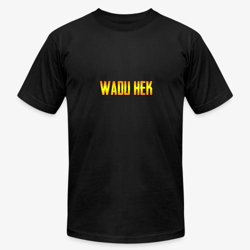 WADU HEK SHIRT TEXT - Men's Fine Jersey T-Shirt