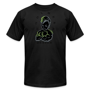 Jodi Merk - Black - Men's Fine Jersey T-Shirt