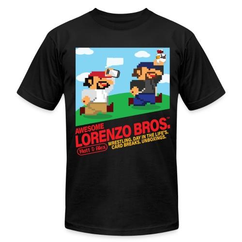 Awesome Lorenzo Bros 8 Bit - Men's Fine Jersey T-Shirt