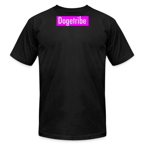 Dogetribe pink logo - Men's Fine Jersey T-Shirt