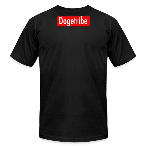 Dogetribe red logo - Men's Fine Jersey T-Shirt