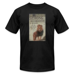 lion updates picture - Men's T-Shirt by American Apparel