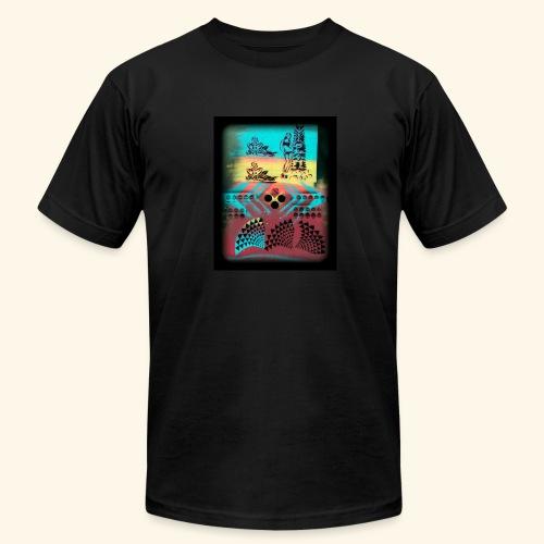 Aloha Pattern - Men's Fine Jersey T-Shirt