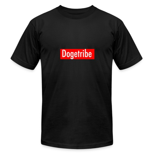 Dogetribe red logo - Men's  Jersey T-Shirt