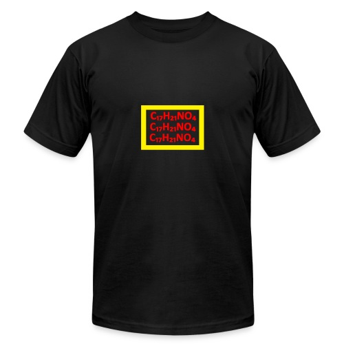 The Formula YELLOW/RED - Men's Fine Jersey T-Shirt