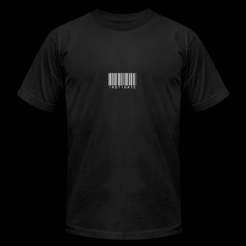 Instigate barcode - Men's Fine Jersey T-Shirt