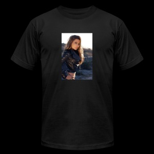 Rebecca Grant tuff and sexy - Men's Fine Jersey T-Shirt