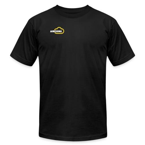 Aircoin Company Logo - Men's Fine Jersey T-Shirt