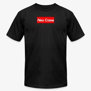 Neo Crane Box Logo - Men's Fine Jersey T-Shirt